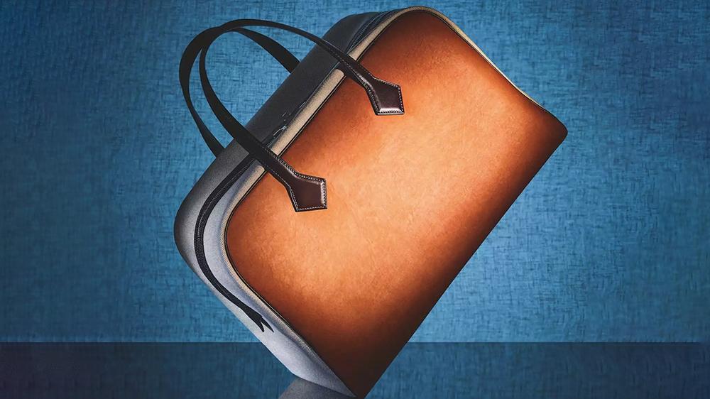 El nuevo bolso vegano de Hermès/Foto: MycoWorks