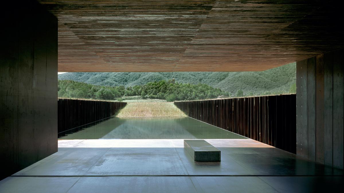 Casa Horizonte del estudio RCR _ Foto_ Theo Coutanceau-Domini