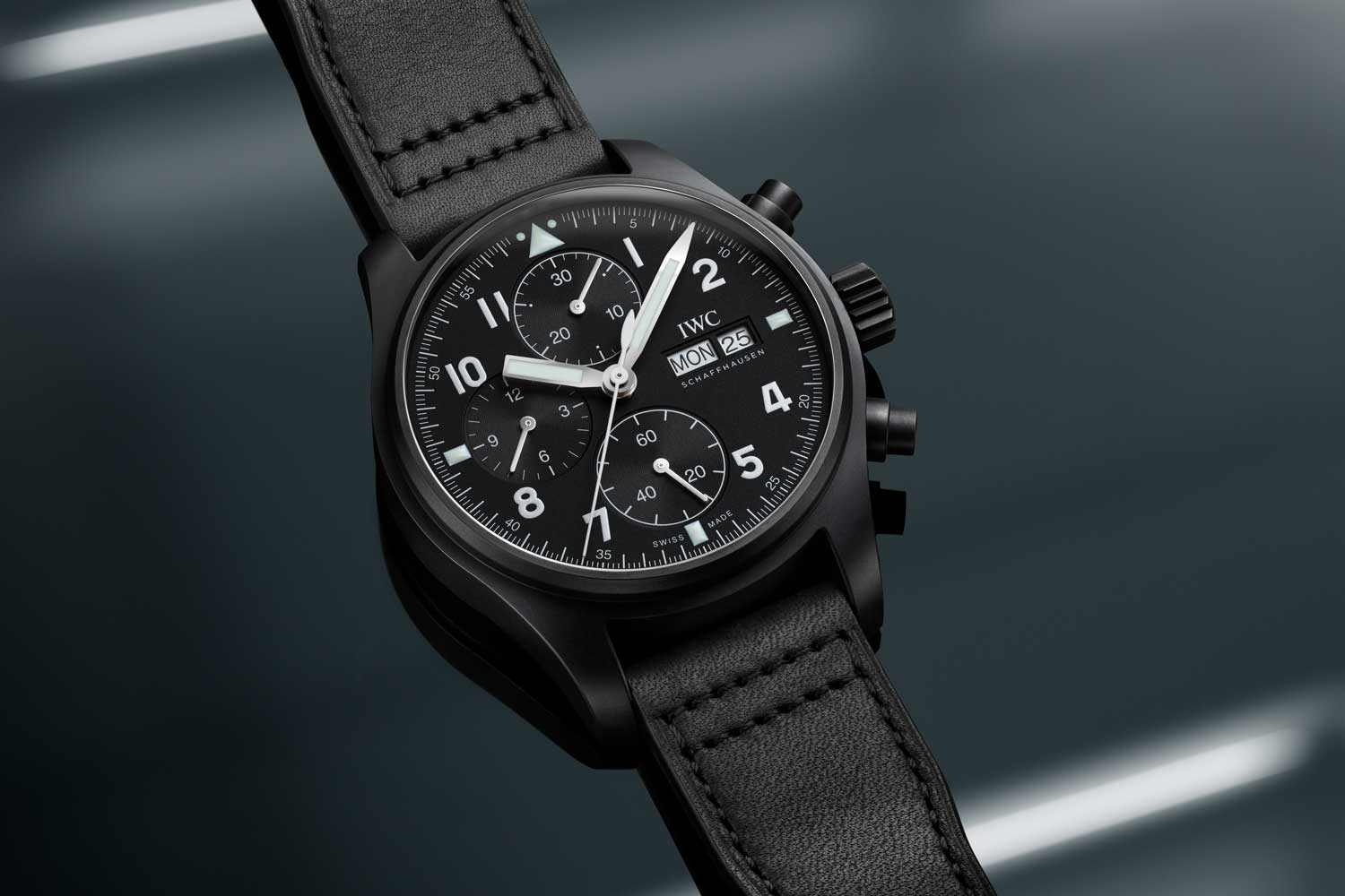 IWC pilots watch chronograph tribute to 3705