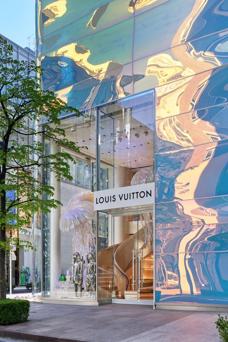 Fachada Louis Vuitton / Foto: Louis Vuitton