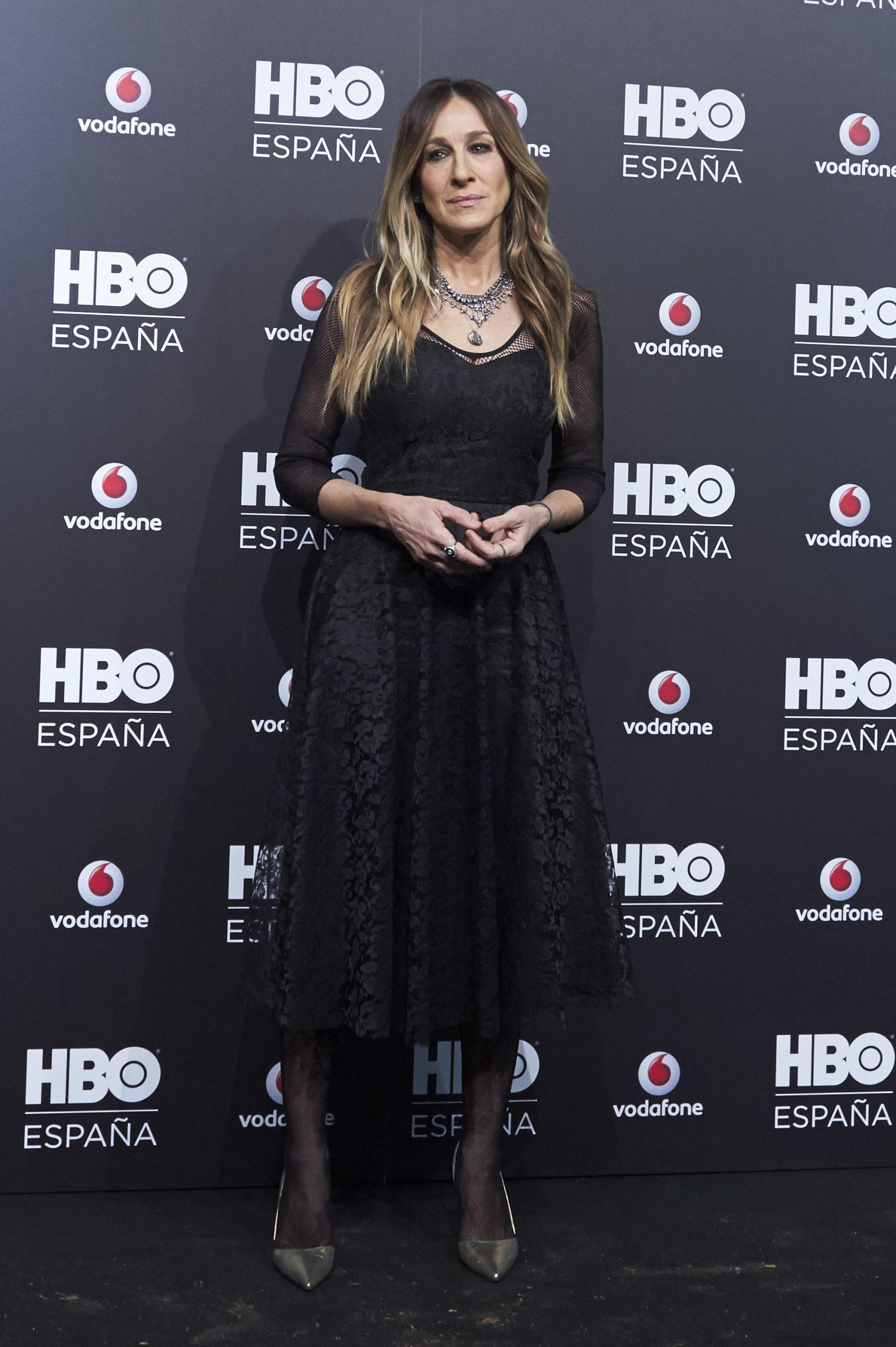 Sarah Jessica en una premiere de HBO en Madrid/Foto: Getty
