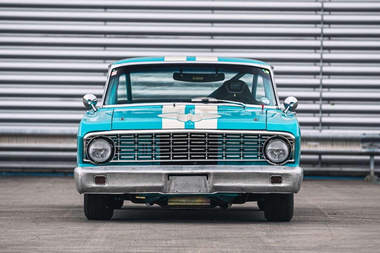 Ford Falcon de frente / Foto: Silverstone Auctions