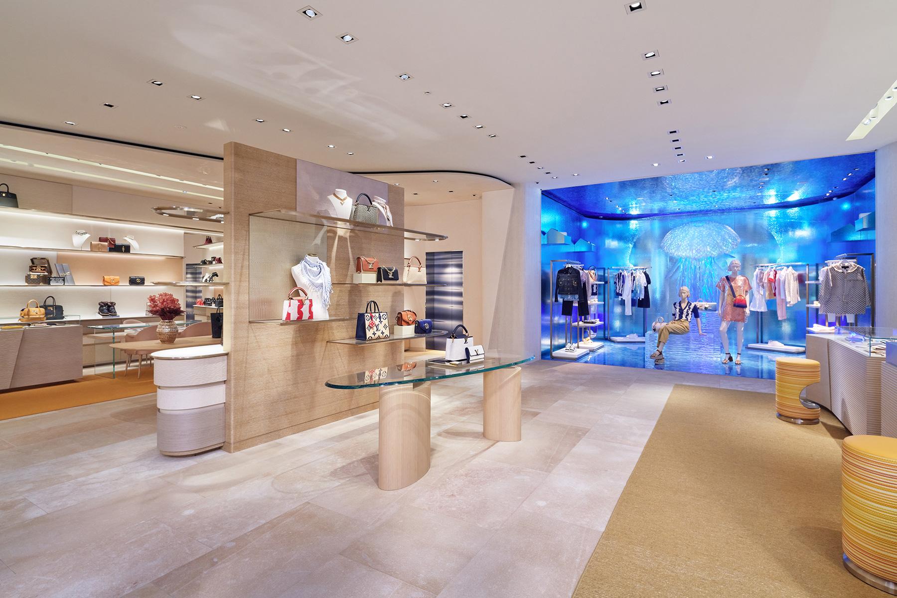 Interior de Louis Vuitton / Foto: Louis Vuitton