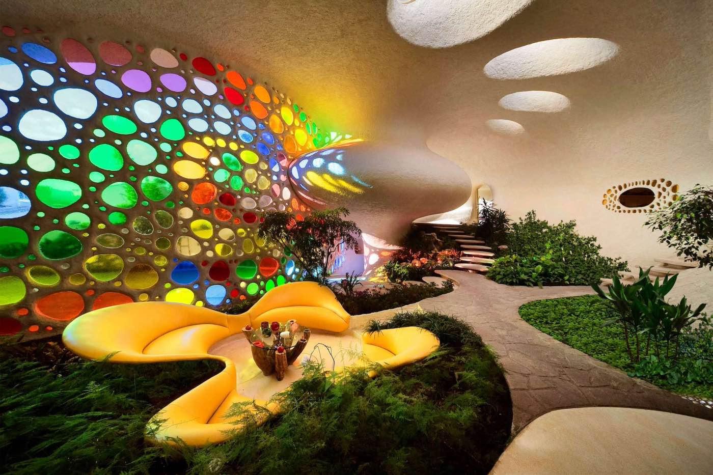Interior de la Casa Nautilus/Foto: Foto: Senosiain
