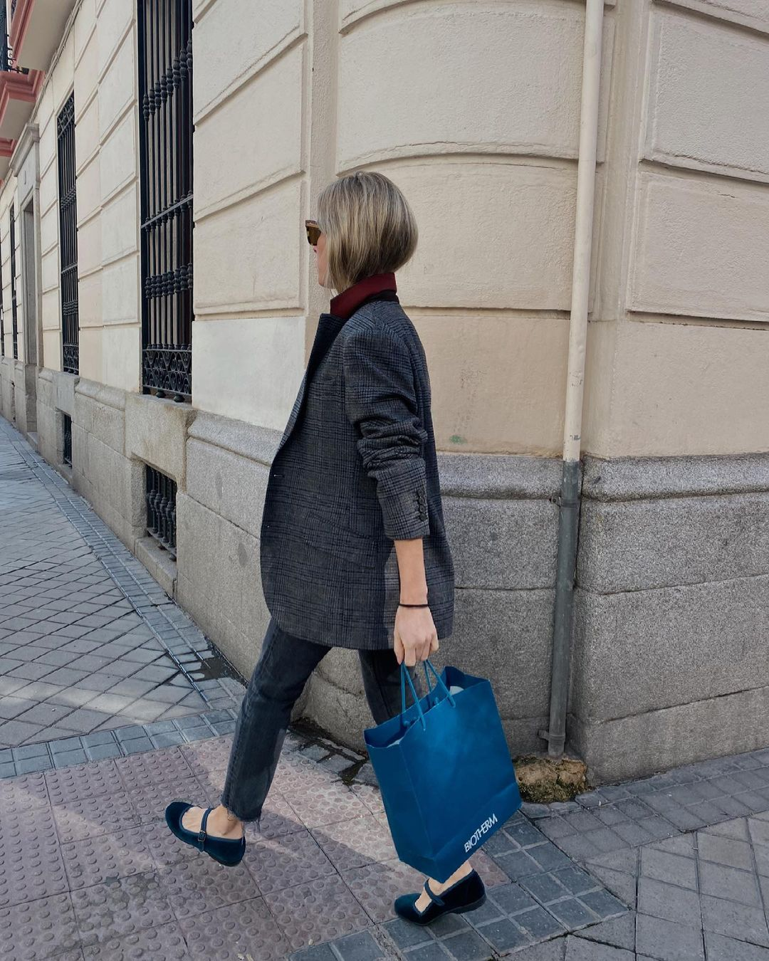 Carlota Ariza con blazer / Foto: Carlota Ariza