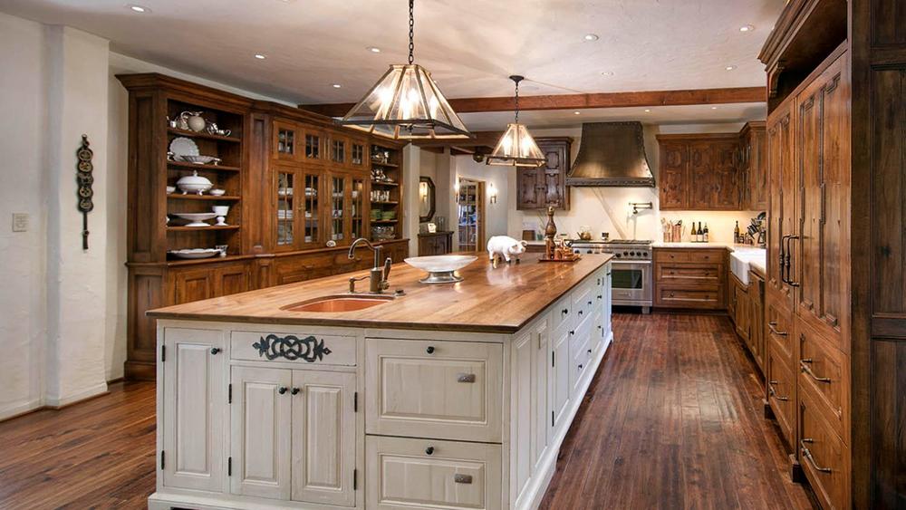 La cocina de la mansión/Foto: Realtor