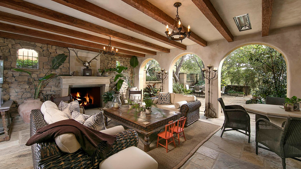 Interior de la mansión de Adam Levine/Foto: Realtor