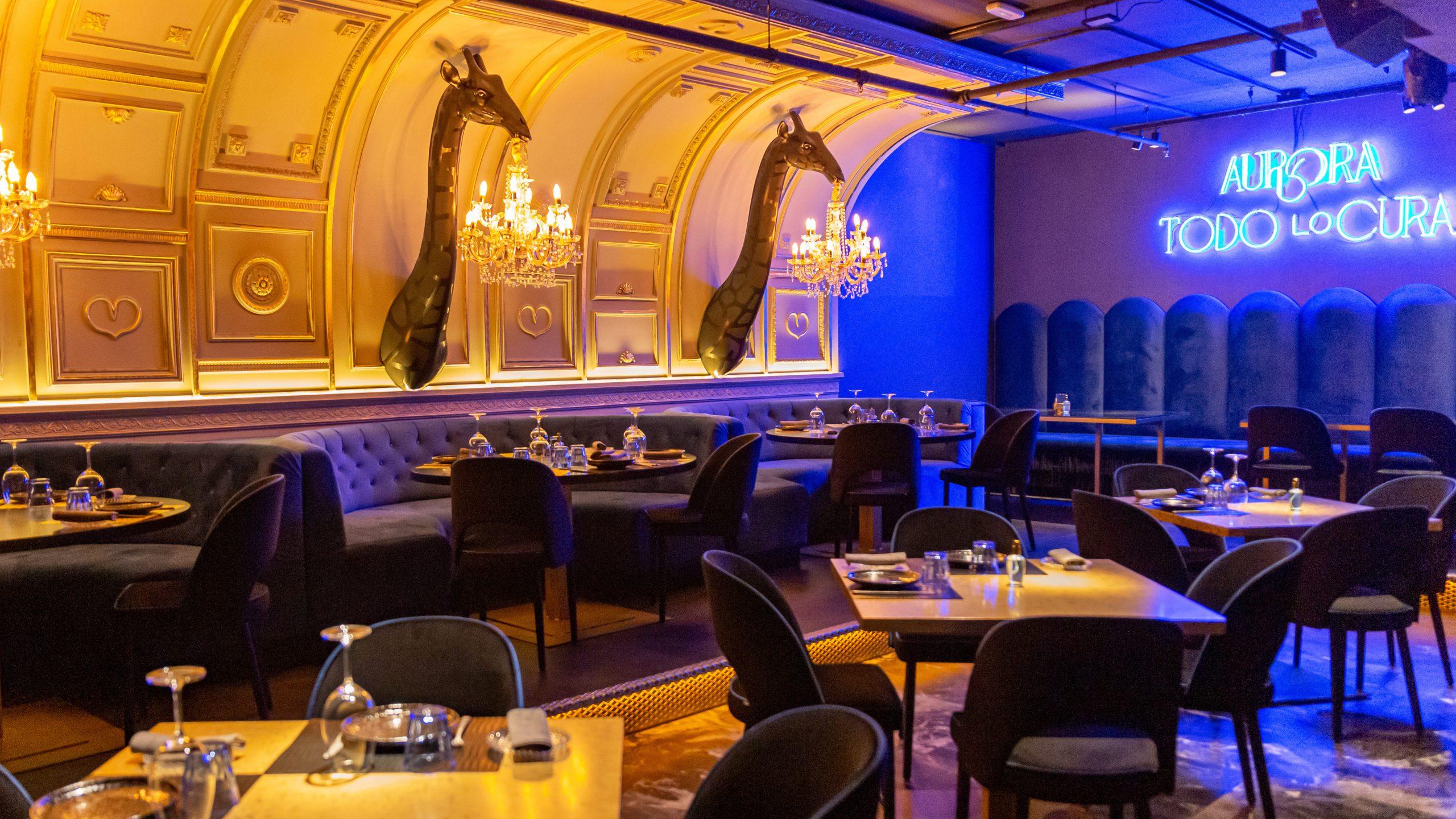 Interior del restaurante / Foto: Aurora Madrid
