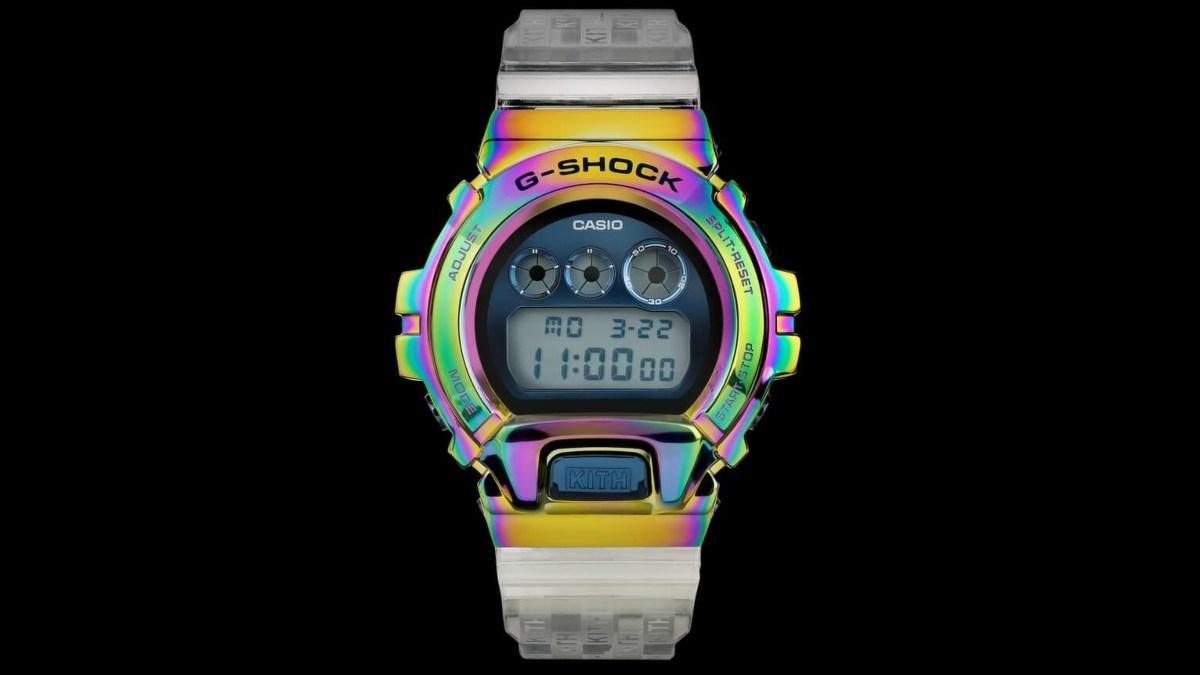 Casio G-shock Kith / Foto: Casio