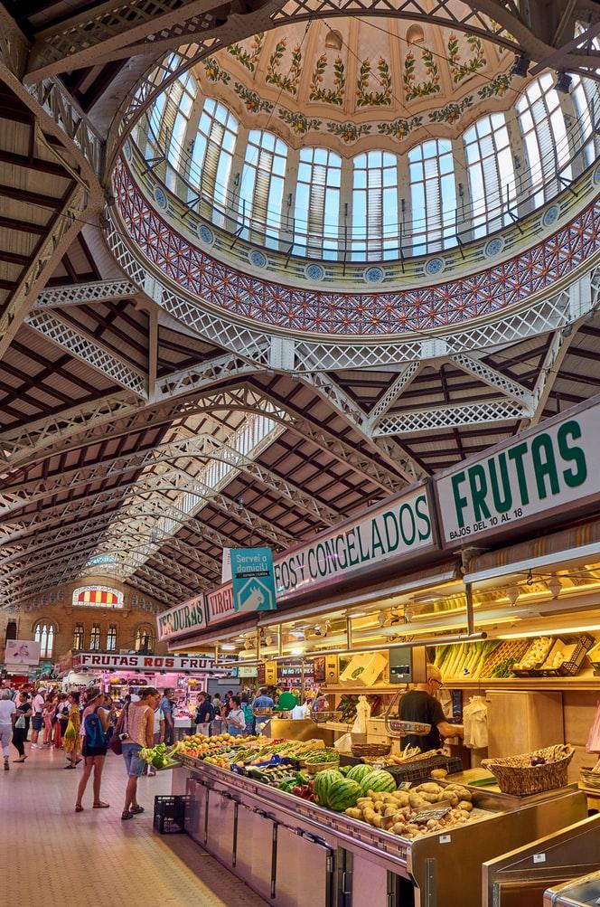 Mercado Central de Valencia / Foto: Unplash