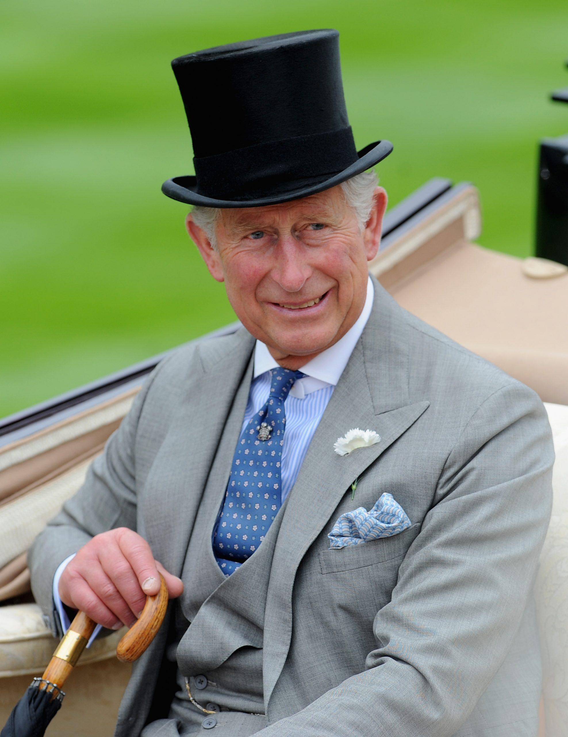 Príncipe Carlos en Ascot. /Foto: Gettyimages