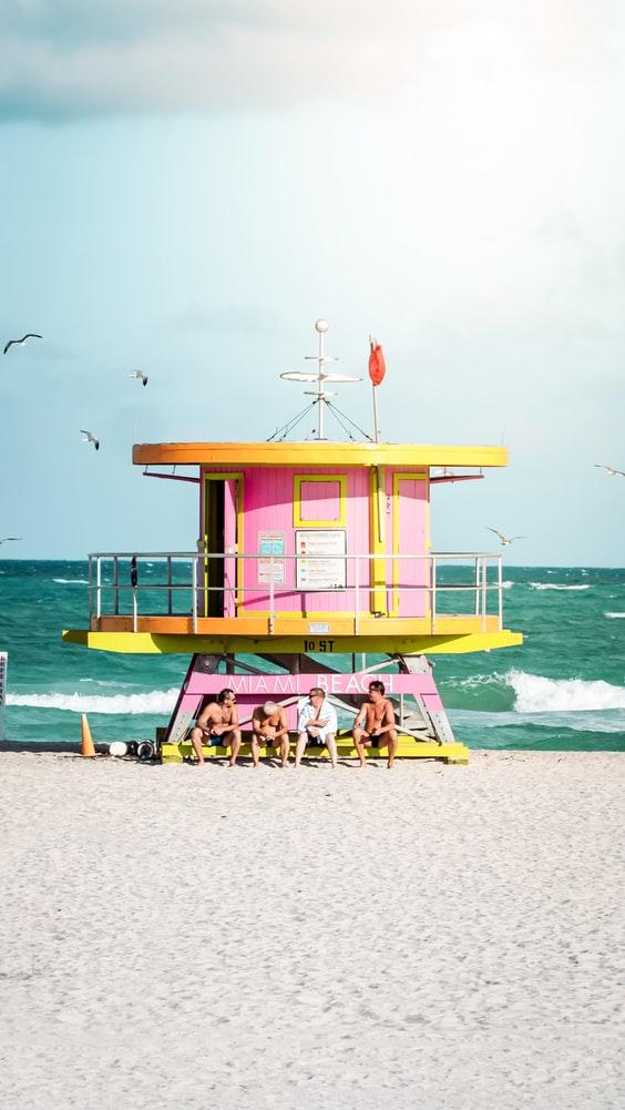 Una playa de Miami / Foto: Unplash