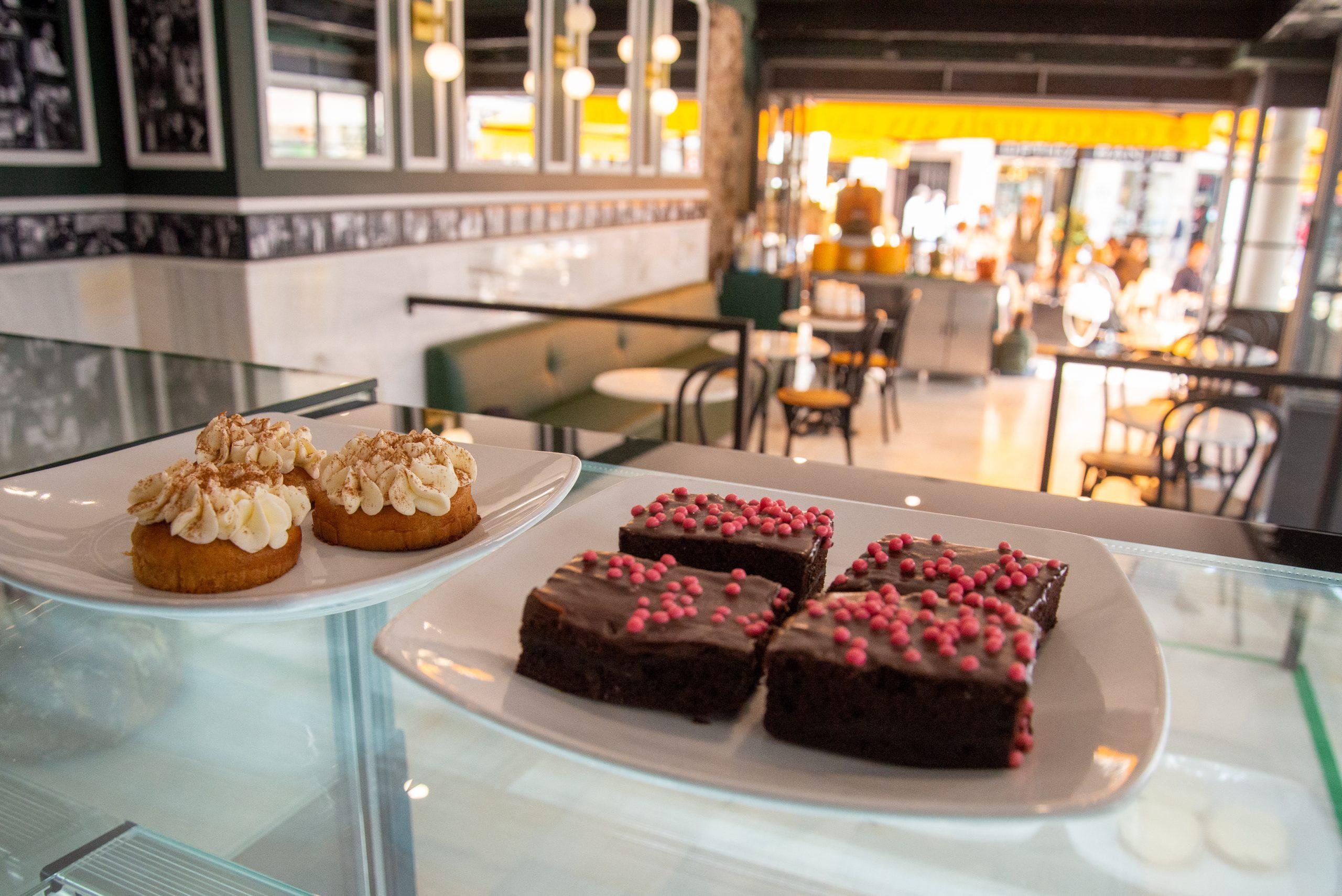 Interior de la chocolatería San Ginés de Marbella