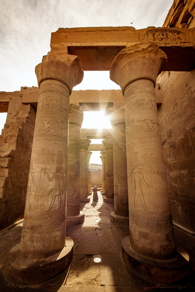 Templo de Luxor en Egipto / Foto: Unplash