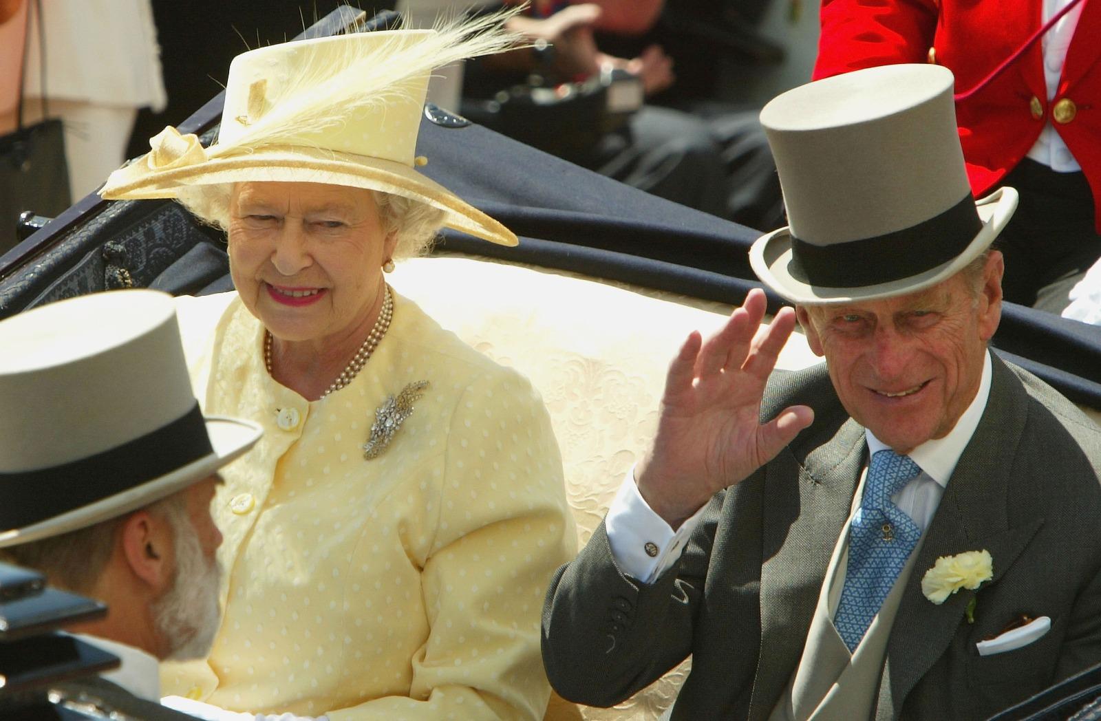 Duque de Edimburgo en Ascot. /Foto: Gettyimages