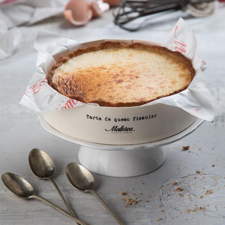 La tarta de queso de Fismuler que se ofrece en Mallorca