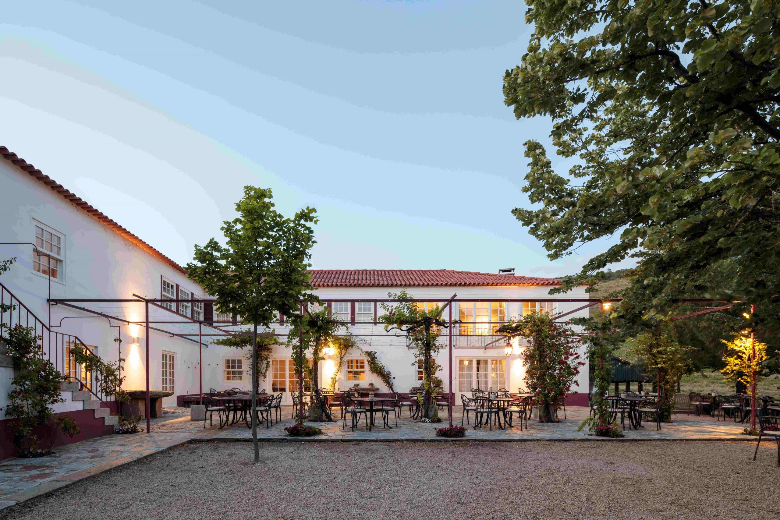 La terraza del hotel / Foto: Quinta Nova