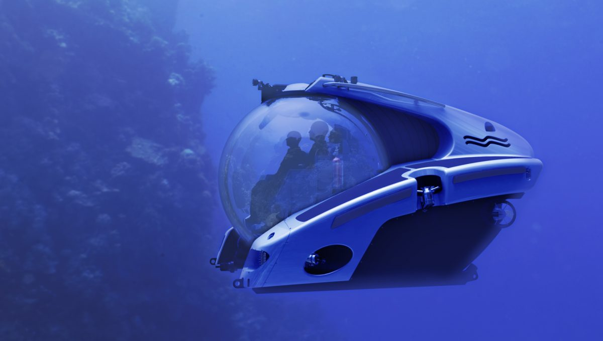 Superyacht sub / Foto: superyacht tenders and toys