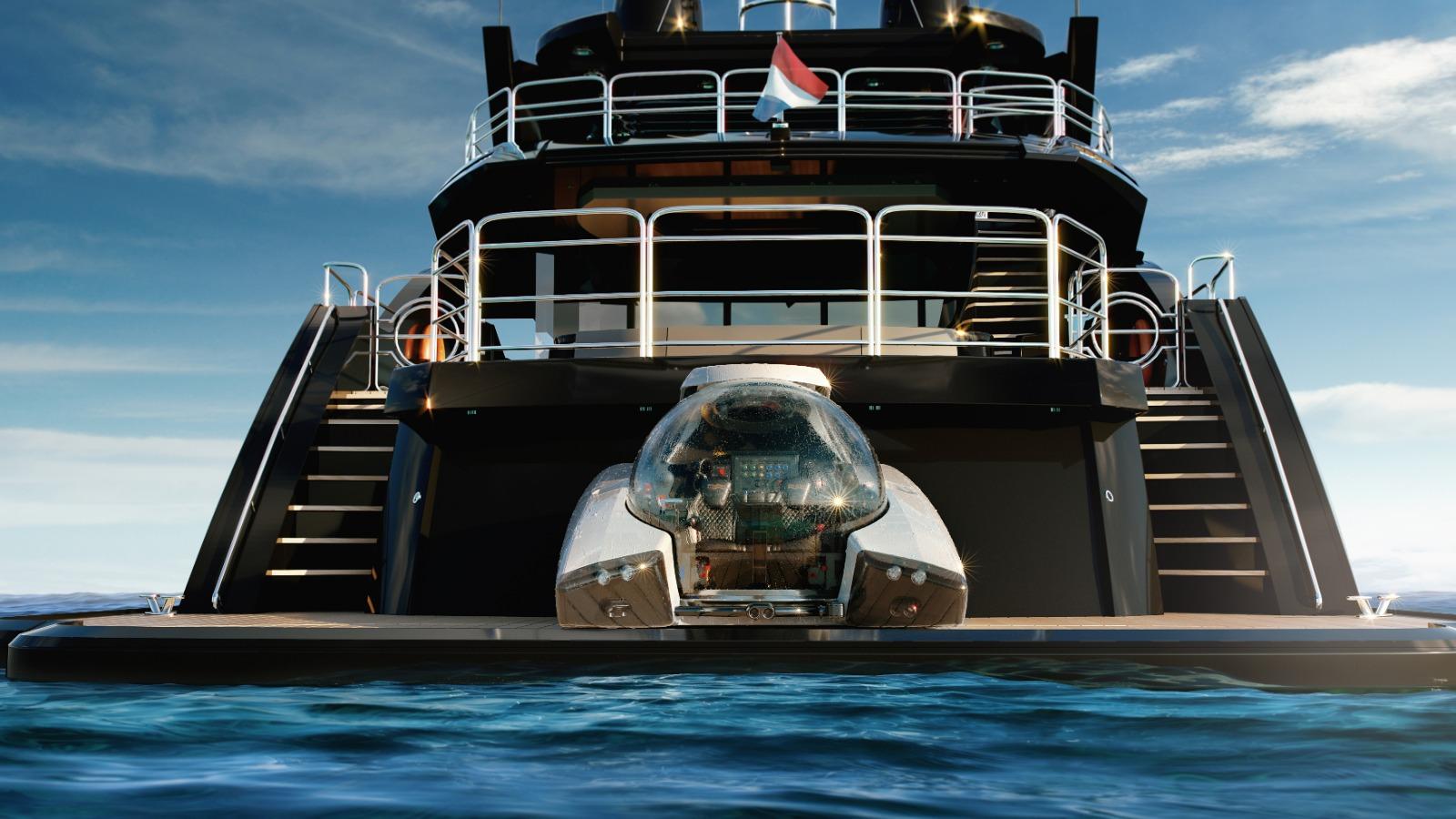 El submarino de 3 millones de euros que puedes guardar en tu yate