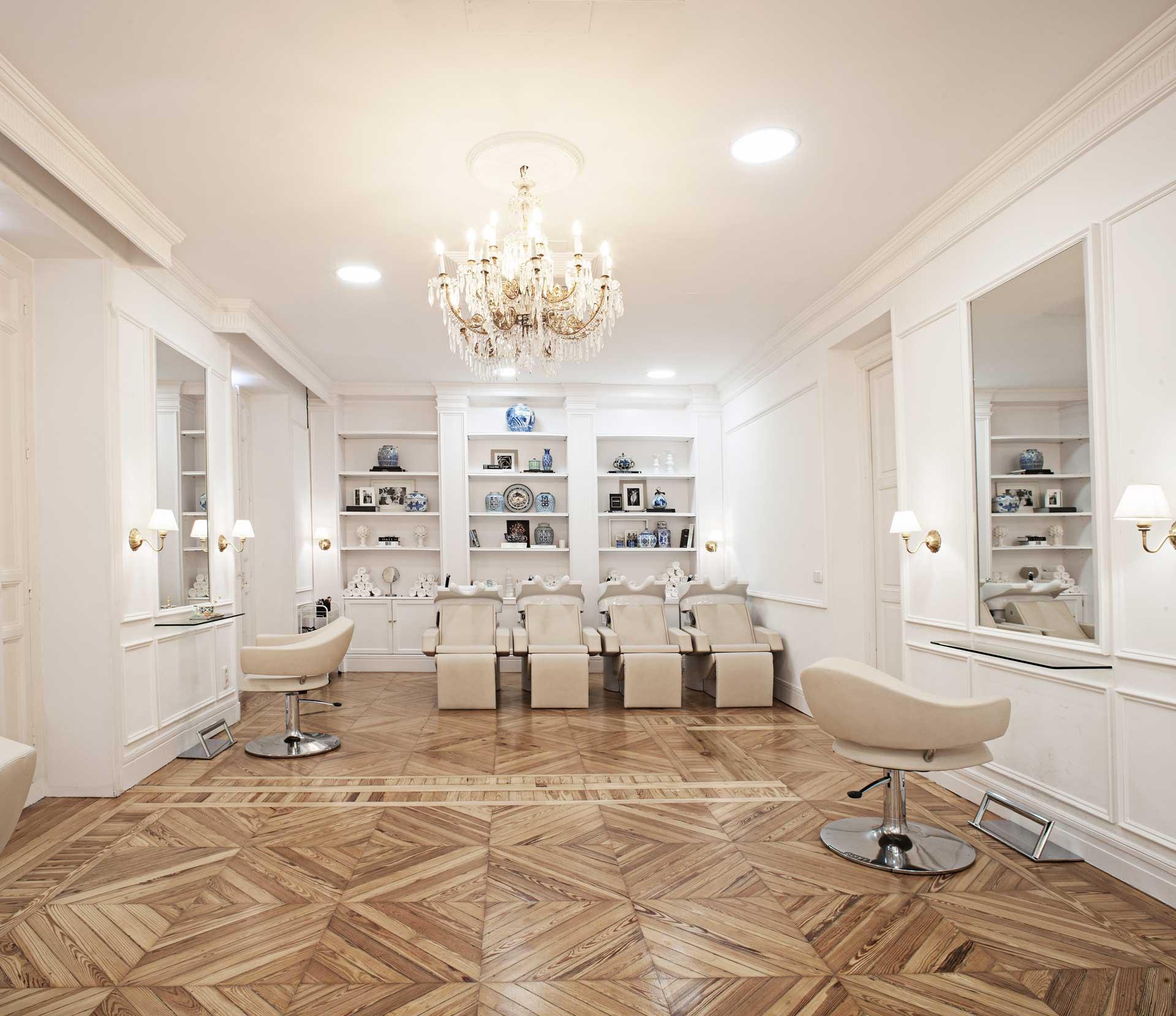 Interior del Salon Moncho-Moreno