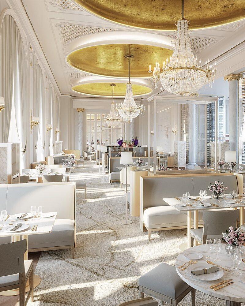 Uno de los espacios gastronómicos del hotel / Foto: Mandarin Oriental Ritz