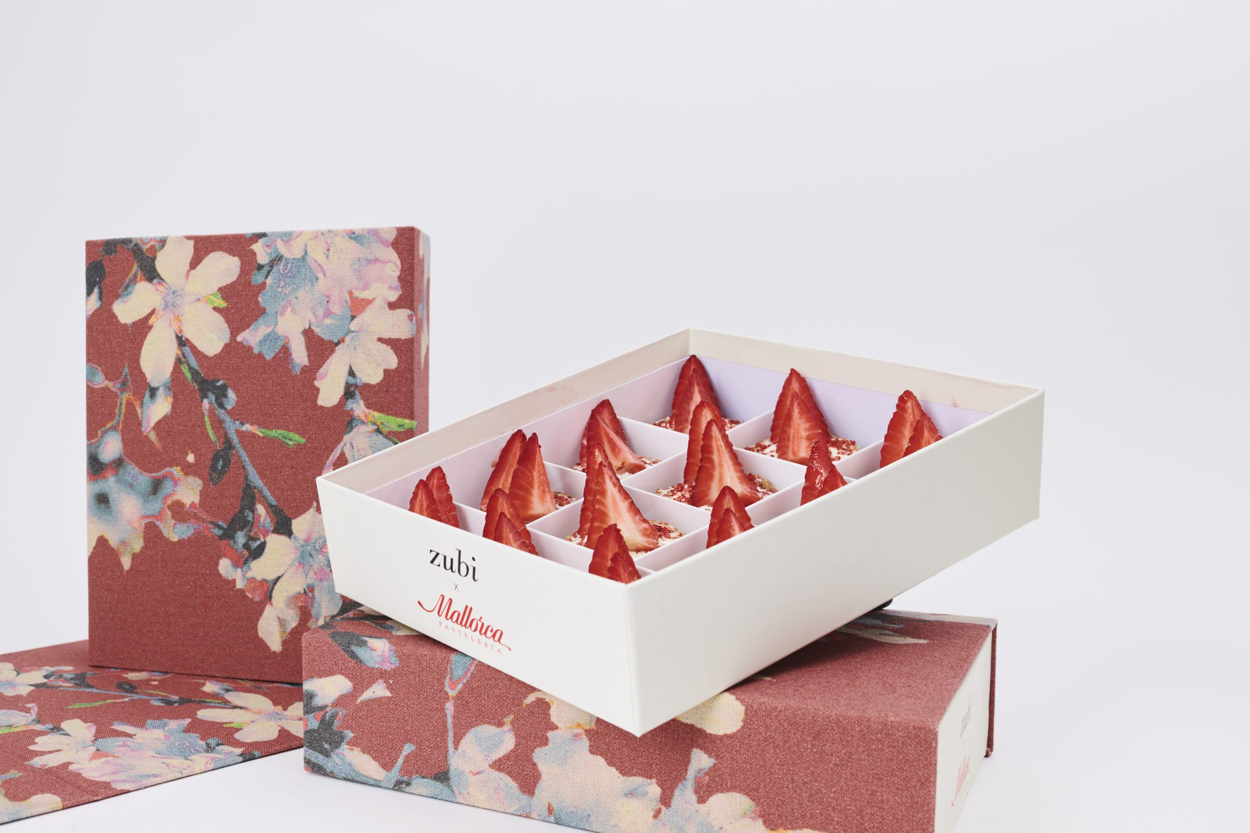 Una de las cajas de Zubi x Pastelería Mallorca / Foto: Pastelería Mallorca
