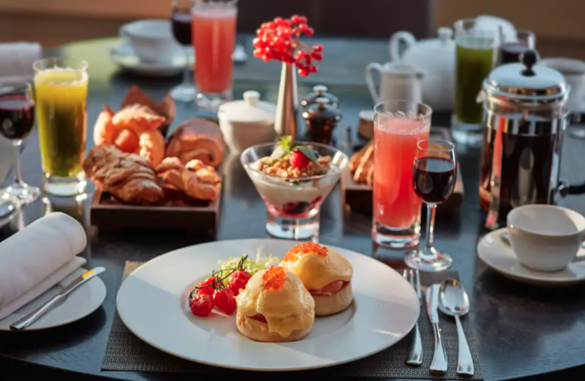 Desayuno en el Mandarin Oriental Ritz
