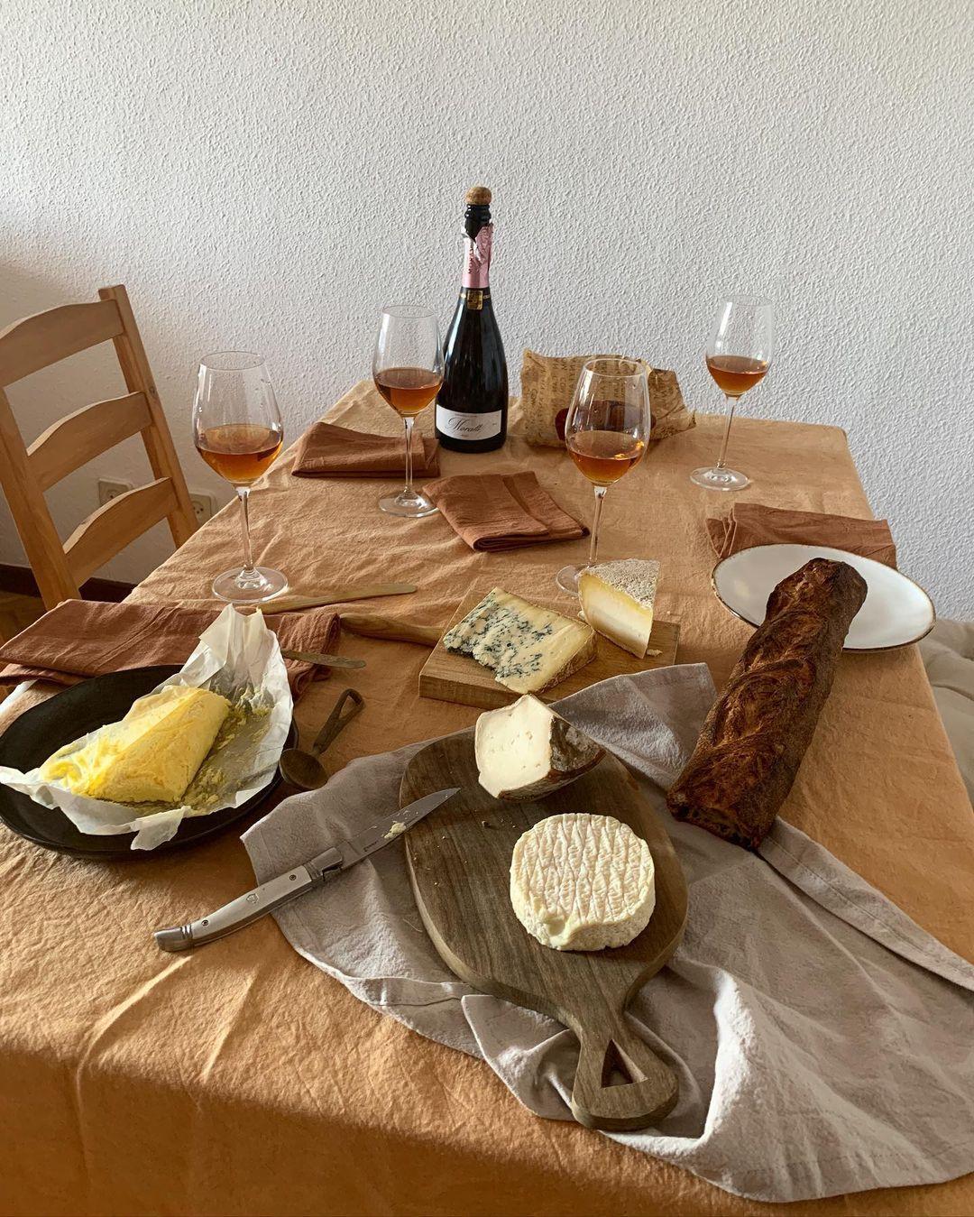 Una de las mesas de Clara Díez / Foto: @claradiez
