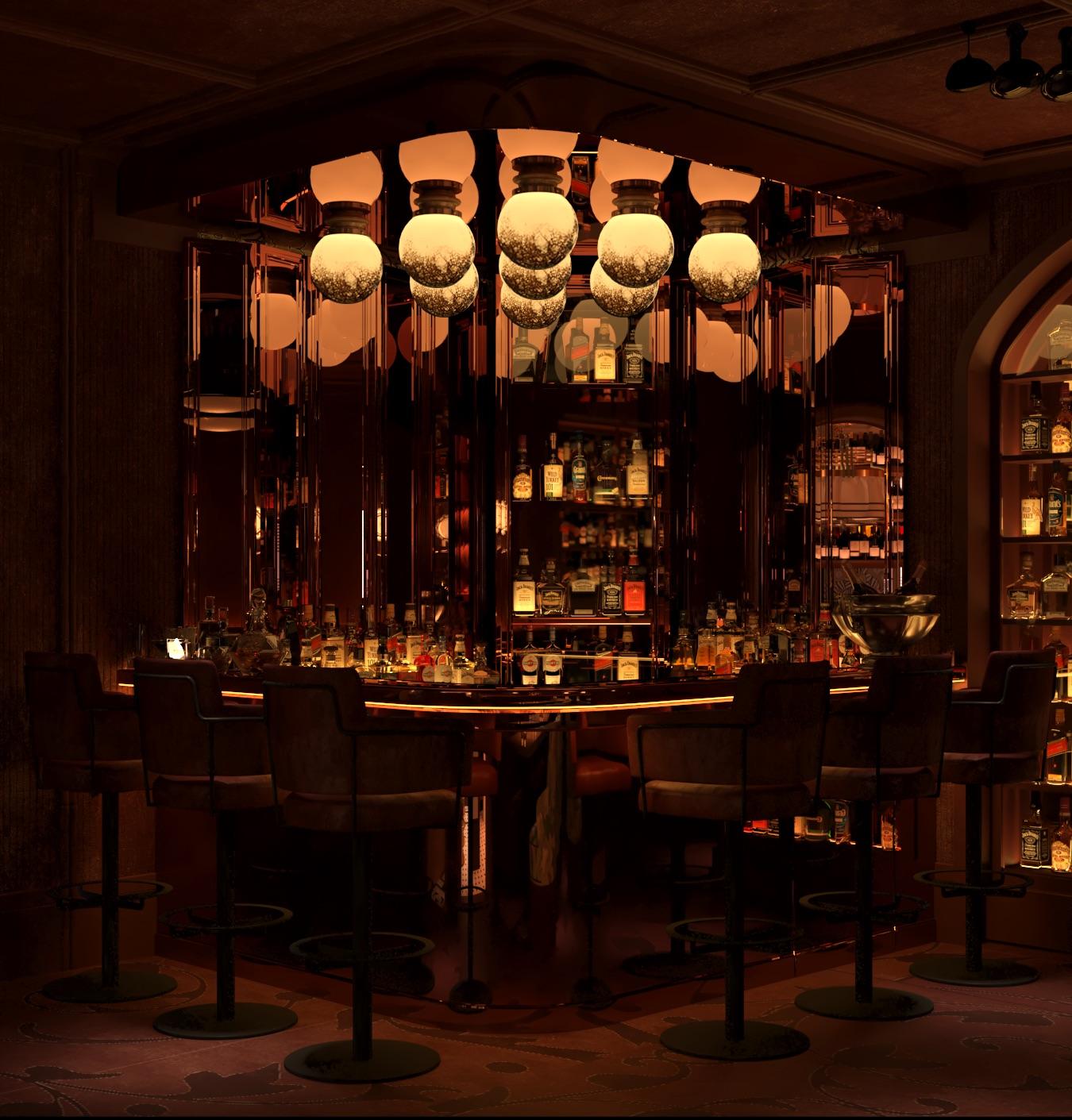 Uno de los rincones / Foto: Bar Manero