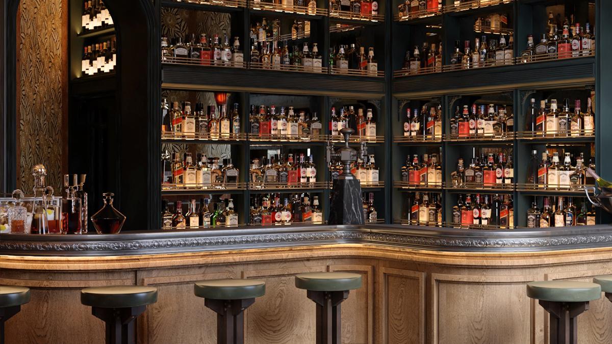 Una de las barras / Foto: Bar Manero