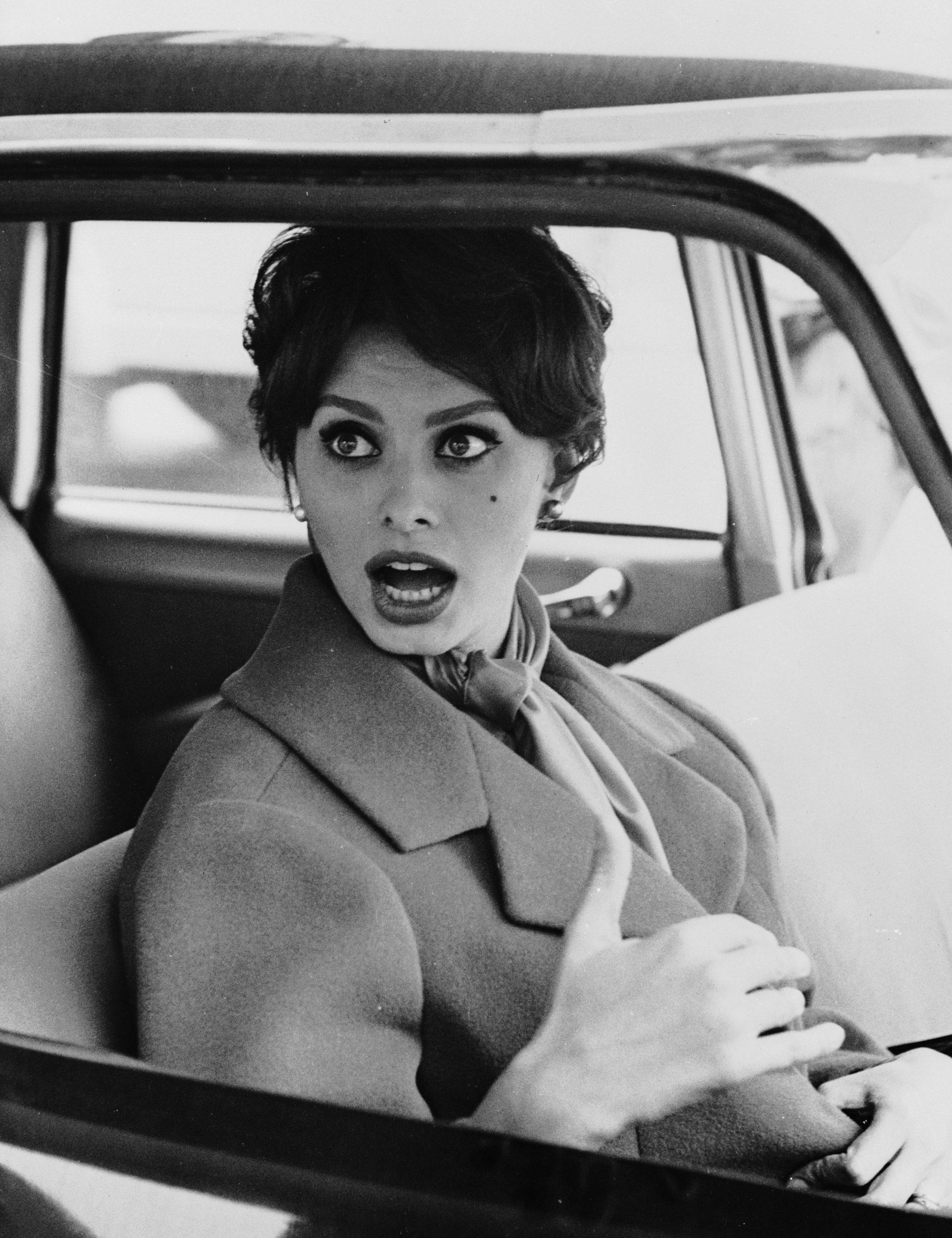 Sofia Loren en una película en 1959 / Foto: Getty Images