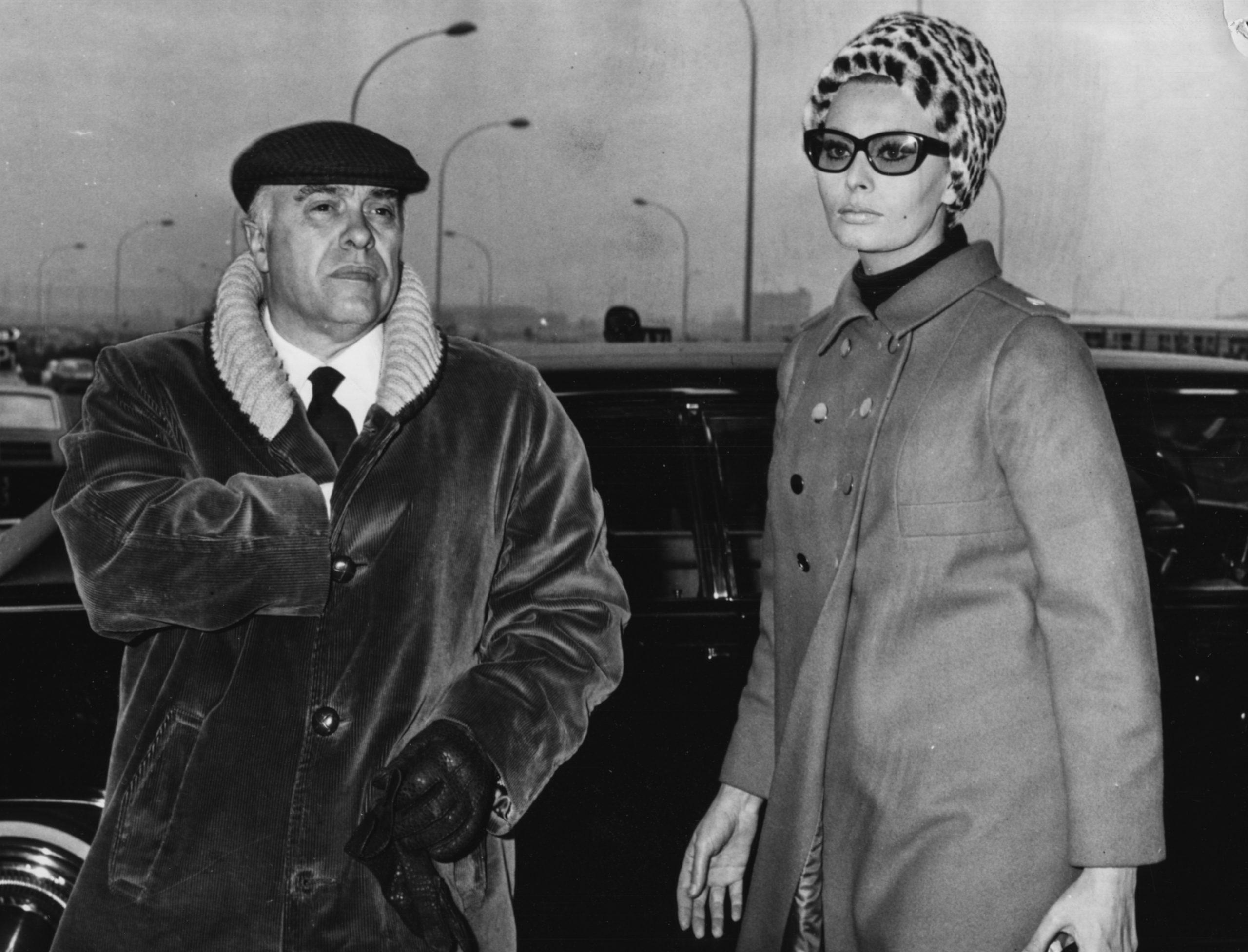 Sofia Loren y Carlo Ponti en 1967 / Foto: Getty Images