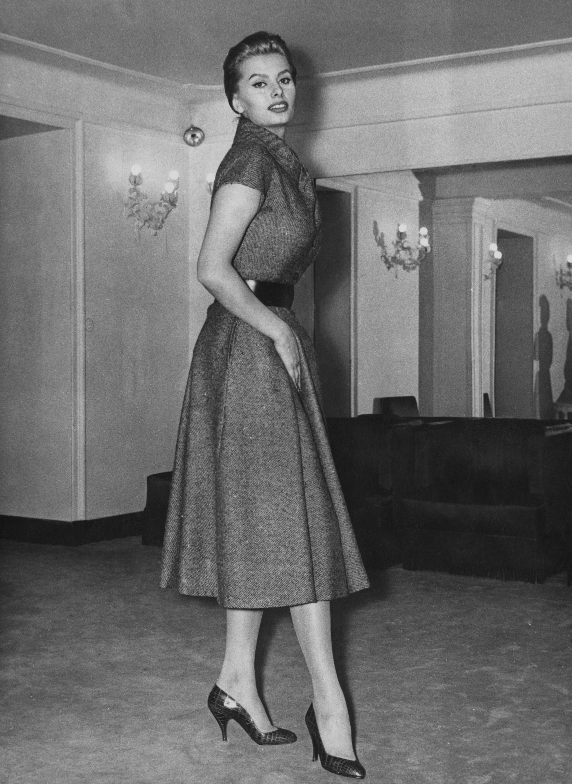 Sofía Loren en 1956 / Foto Getty Images