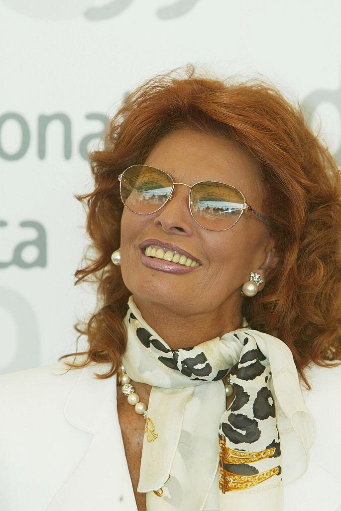 Sophia Loren en 2002