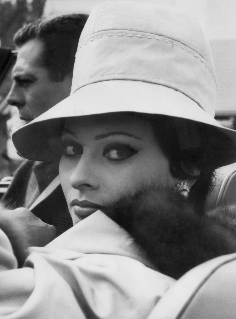 Sophia Loren con sombrero / Foto: Getty