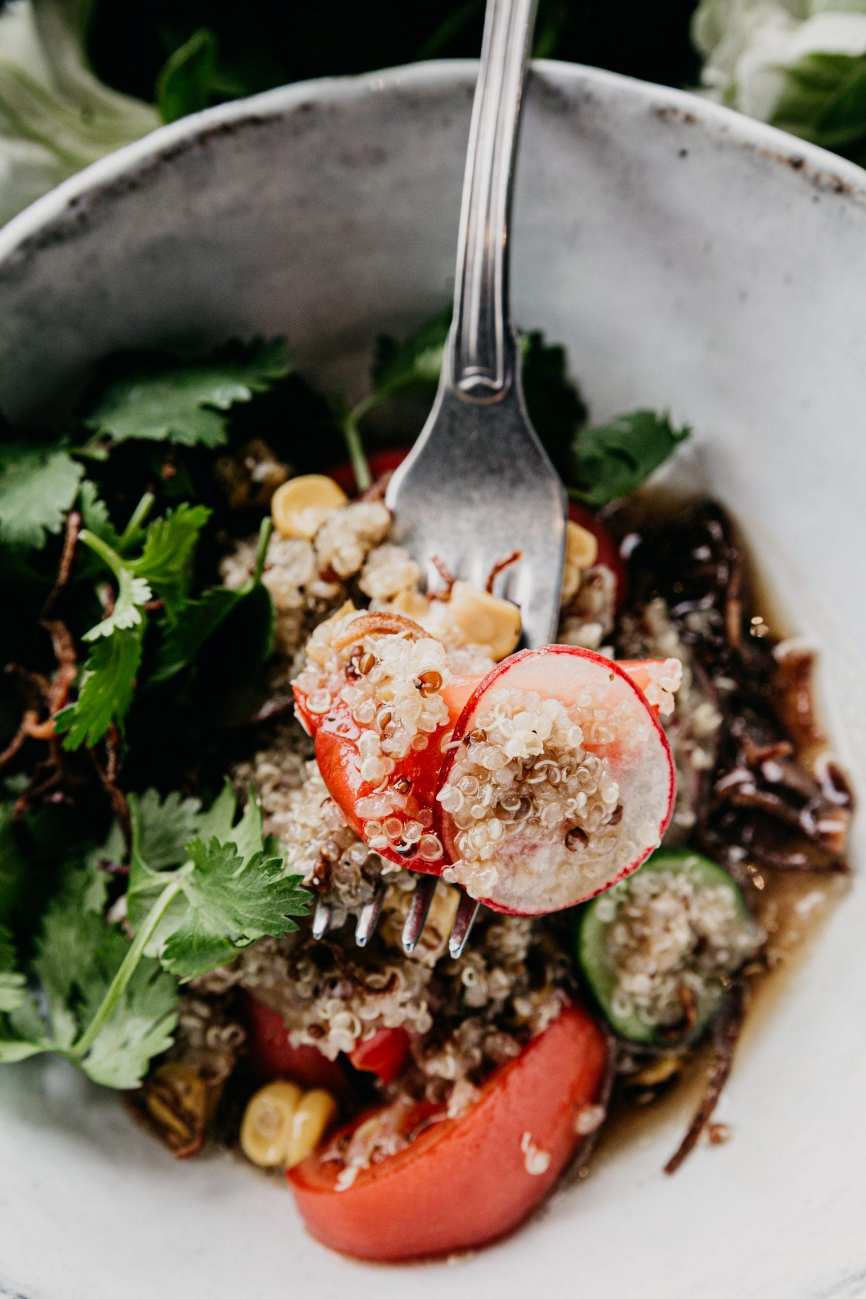 Plato de quinoa / Foto: Pexels
