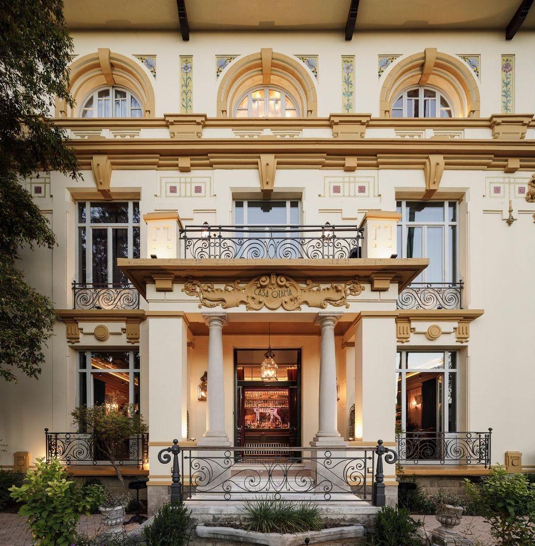 La fachada / Foto: Casa Ozama