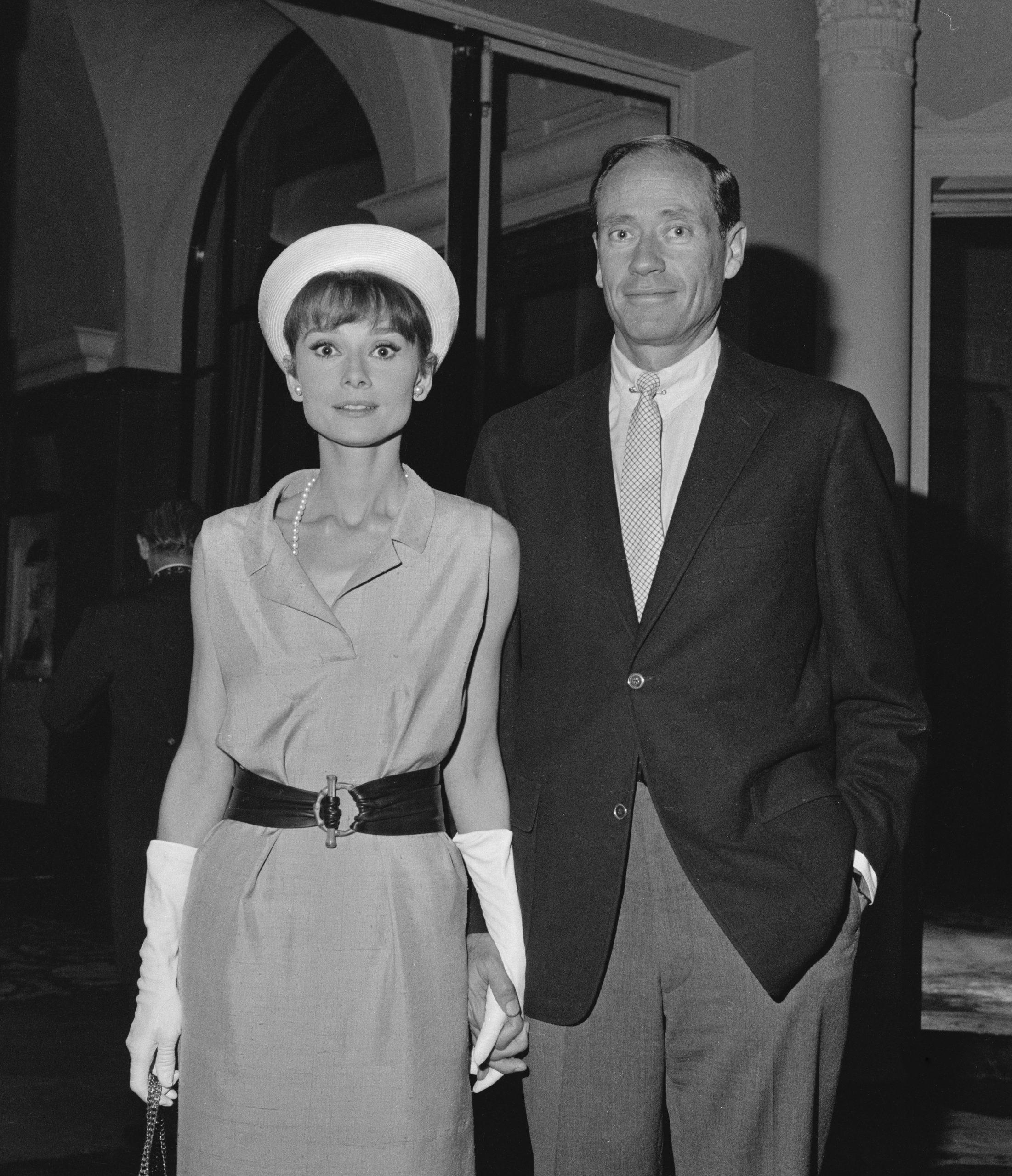 Audrey Hepburn y Mel Ferrer / Foto: Getty Images