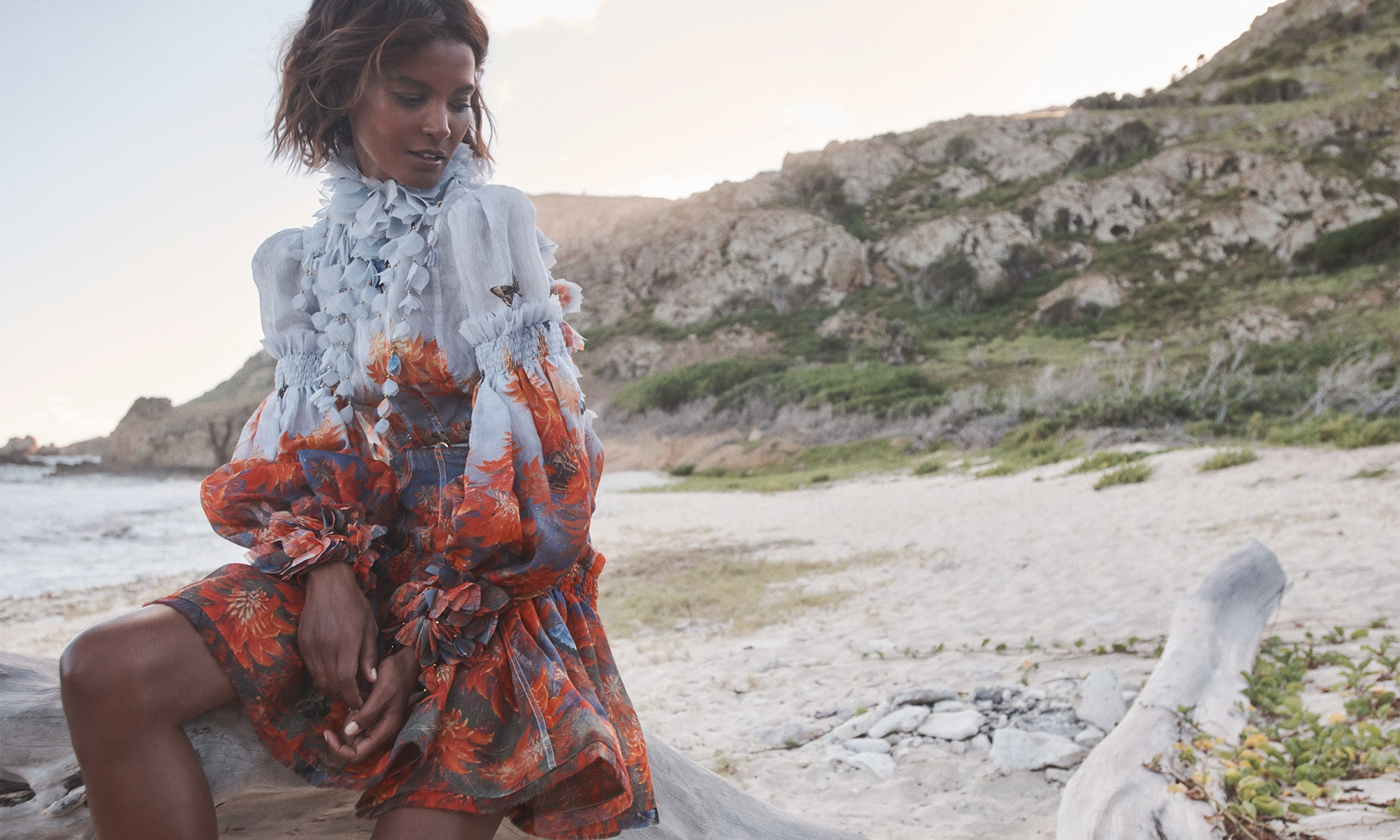 Primavera-verano 2021: faldas, blusas y vestidos cuajados de flores