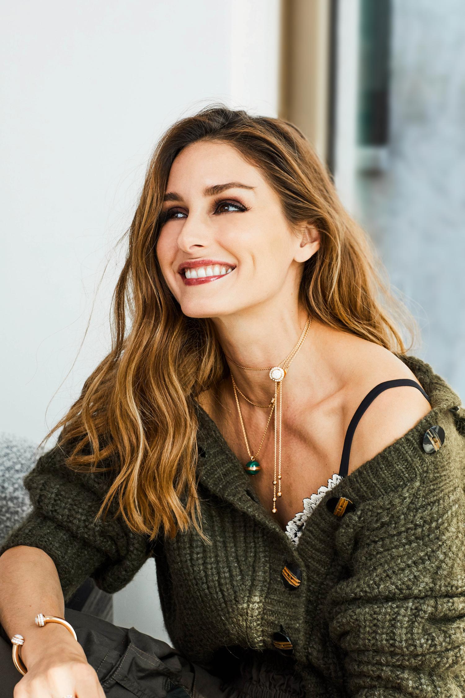 Olivia Palermo brilla en la colección de joyas de Piaget