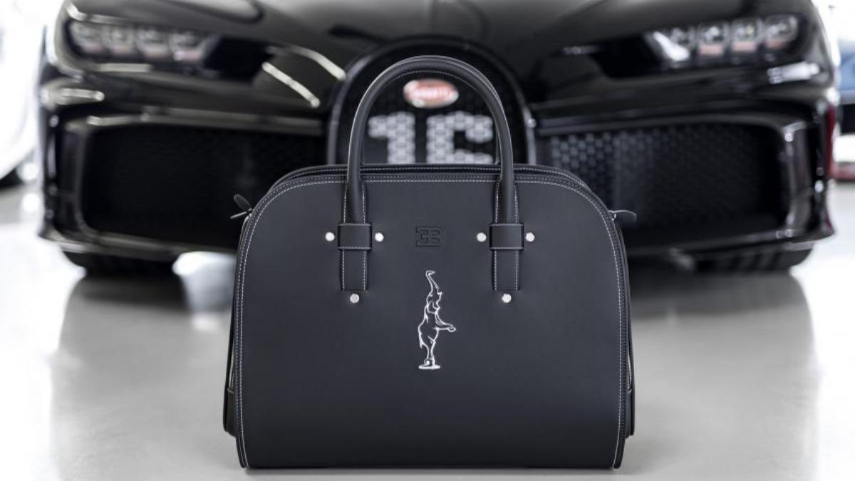 El set de equipaje de Bugatti para combinar con tu coche