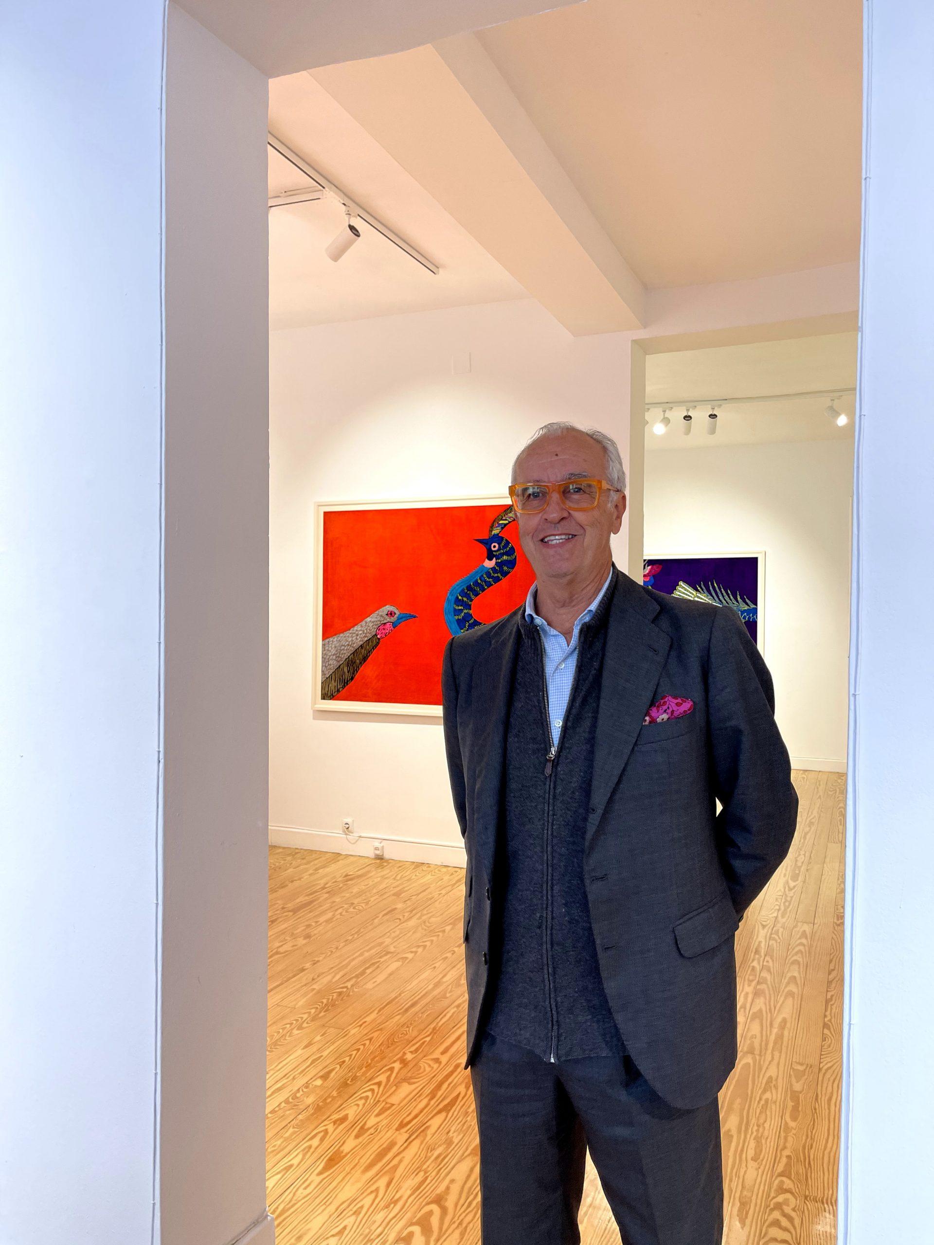 Pepe Cobo, el mecenas sevillano del arte «sin fronteras»