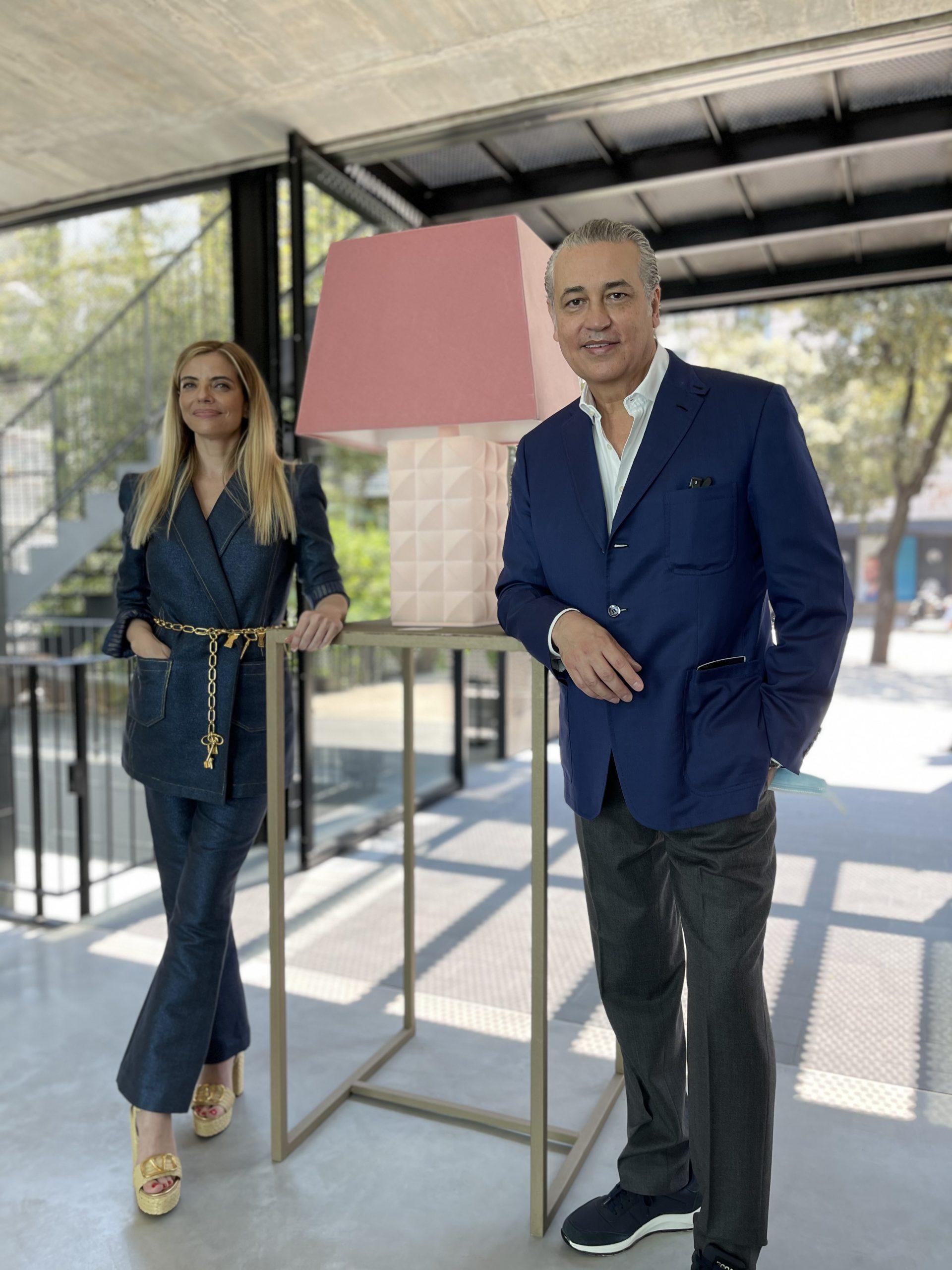Raquel Oliva y el doctor Jorge Planas