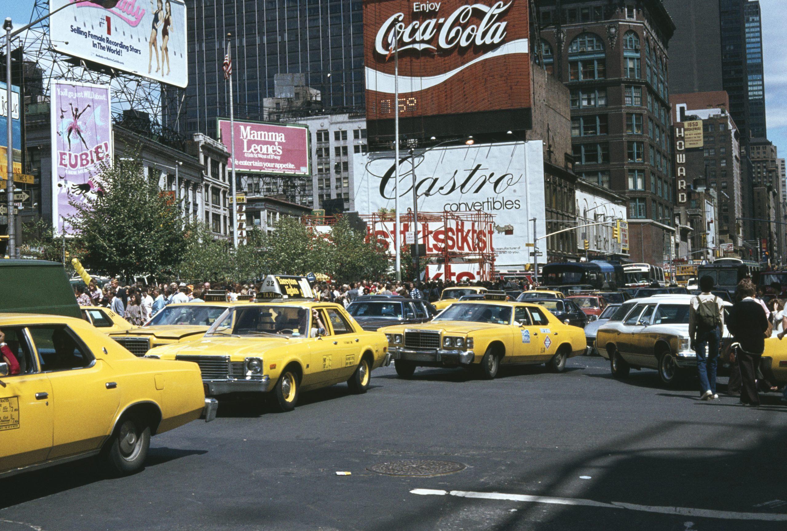 Poster Coca-Cola en NY
