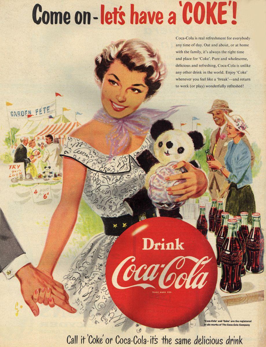 Anuncio de Coca-Cola. /Foto: Gettyimages
