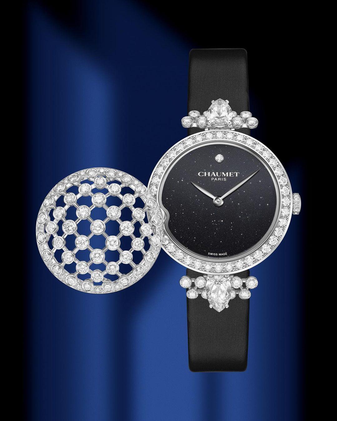 El reloj secreto de Chaumet de oro y diamantes
