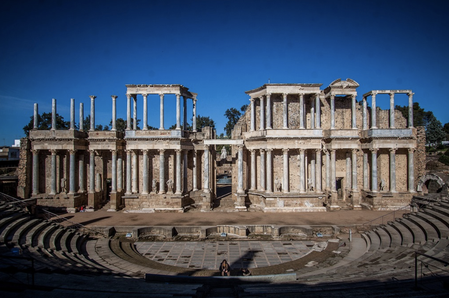Teatro romano, Mérida