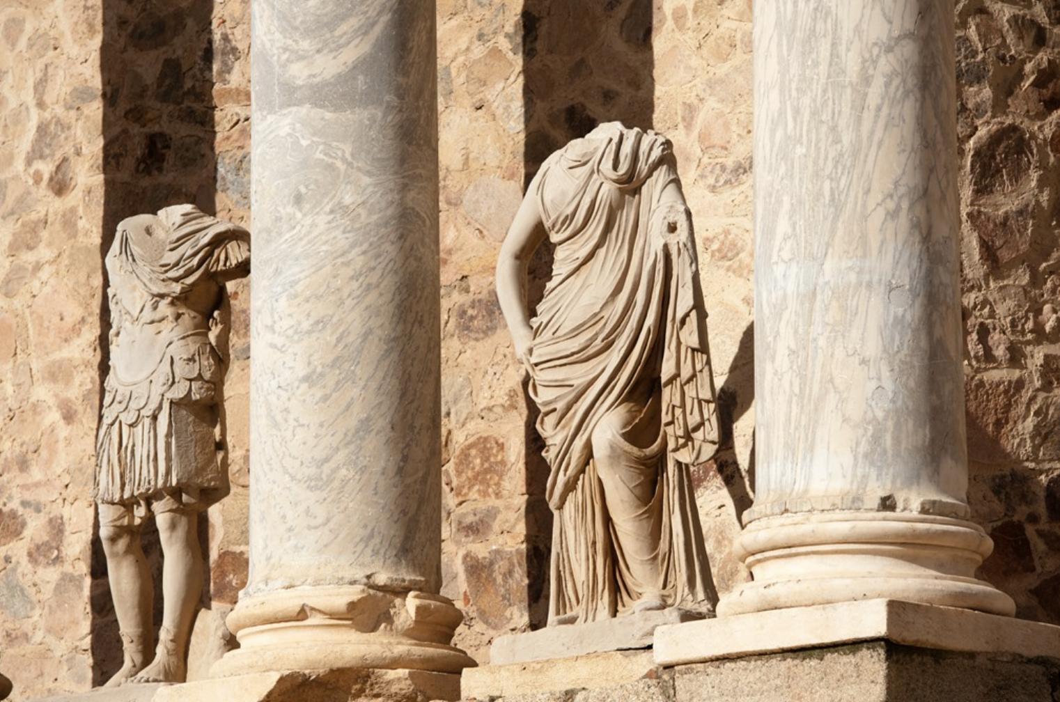 Parte del Teatro Romano