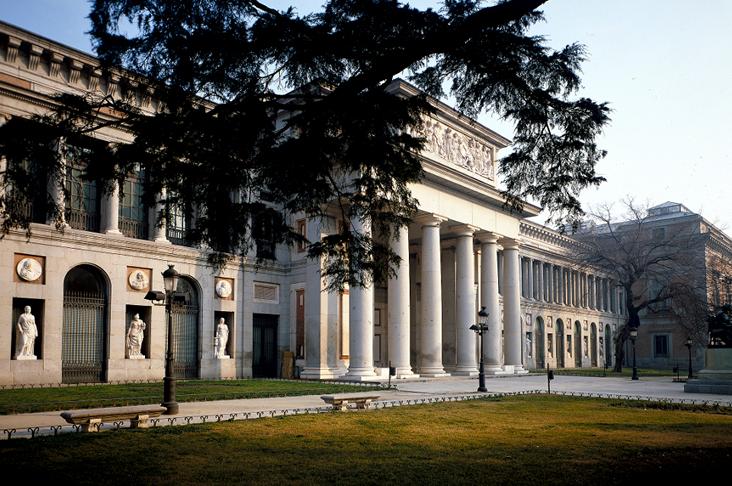 Exterior del Museo de El Prado