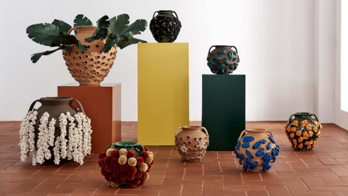 Los asadores de castañas de la colaboración de Loewe y Sotheby's / Foto: Loewe